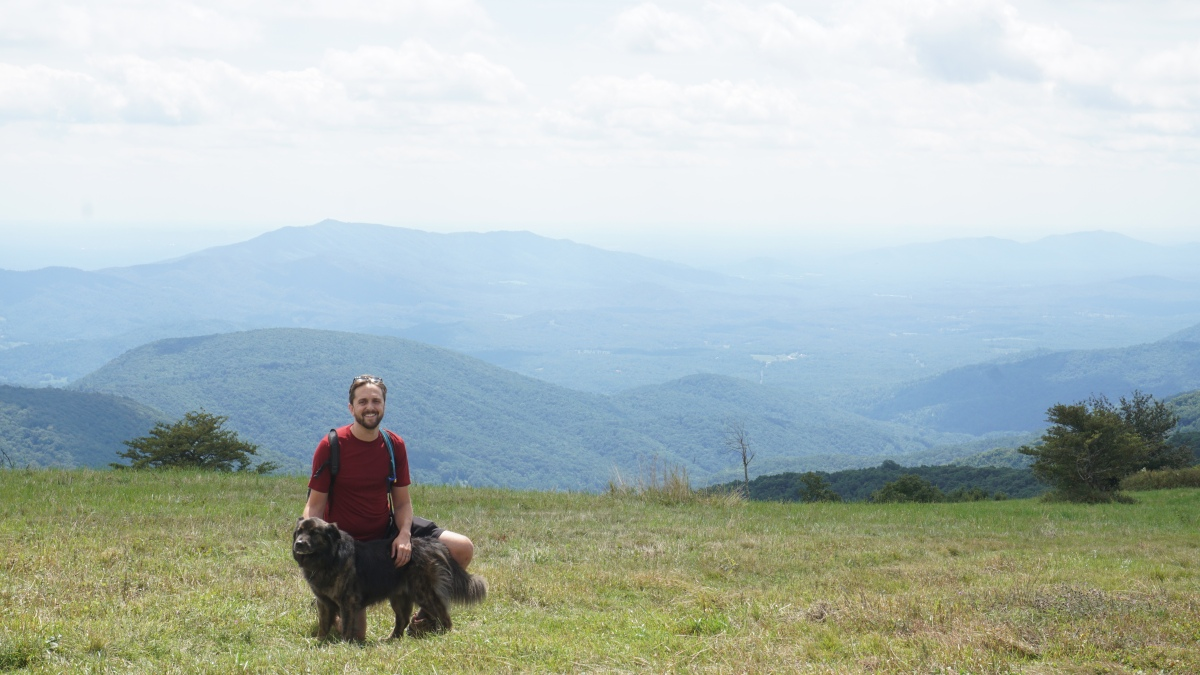 sw virginia hikes: Cold Mountain, August 22 2015