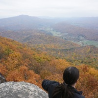 sw virginia hikes: pilgrimage to Tinker Cliffs, October 24 2015