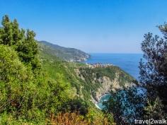 Corniglia from trail 2