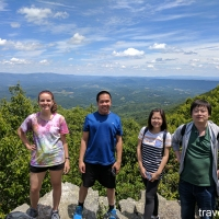 sw virginia hikes: Dismal Creek and Sugar Mountain Loop, June 25 2017