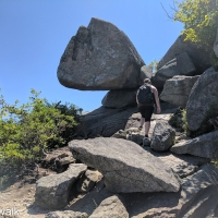 virginia hikes: Old Rag, July 30 2017