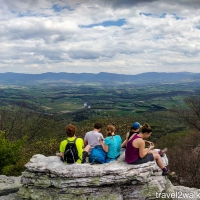 virginia hikes: Strickler Knob via Scothorn Gap, April 16 2017