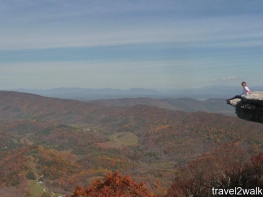 This was our former post-doc Lusha's first Virginia hike, it was a long one.