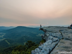 June 3, 2019 is in the middle of the nourthbound thru-hiking season in Southwest VA