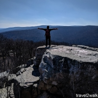 maryland hikes: Catoctin Mountain Park & Cunningham Falls loop, March 10 2018