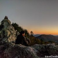 virginia hikes: Dragon's Tooth, February 21 2018