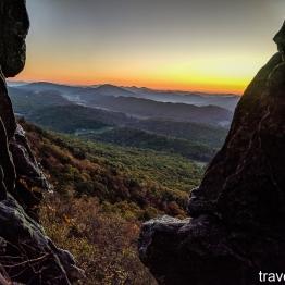sunrise on October 27, 2017