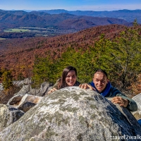 virginia hikes: Devil's Marbleyard via Belfast Trail, November 4 2018