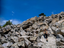 Brennan joined Tashuana, Roger, Meg, and I for a spring 2017 hike.