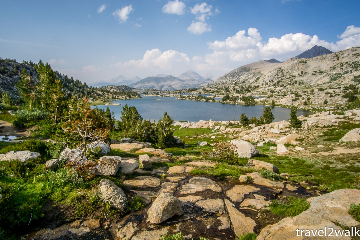 trip report: John Muir Trail, July 2018 - part 4, Red's Meadow Resort to Muir Trail Ranch