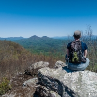 virginia hikes: North Mountain & Pete's Cave, April 27 2019