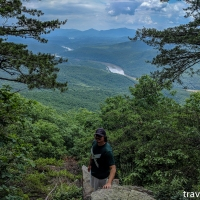 virginia hikes: Little Rocky Row via the AT, June 3 2018