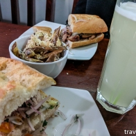 Sandwiches from Chola Soy.
