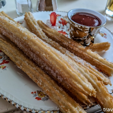 Fancy churros from The Churro Bar, they are breakfast right?