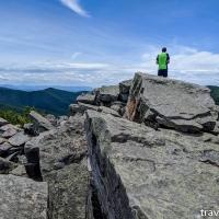 virginia hikes: Blackrock, Trayfoot Mountain, & Paines Run loop, June 22 2019