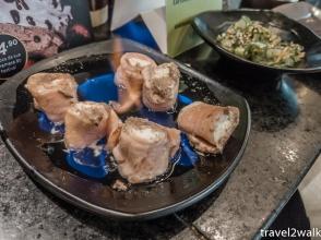 appetizer at Mori Otha Sushi buffet