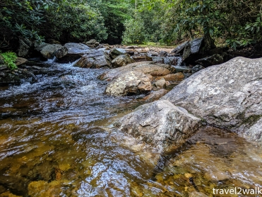 Big Wilson Creek is also a nice water source for the Wise Shelter and those camping around it.