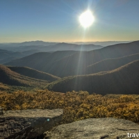 virginia hikes: Mount Pleasant loop, October 24 2019