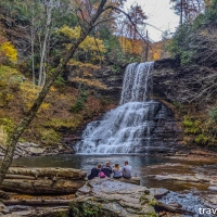 virginia hikes: Cascades Trail & Barneys Wall, October 26 2019