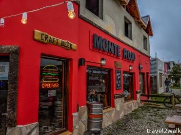 Monte Rojo burger and bar.