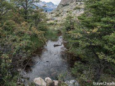 best water source for Campamento Bahia de los Témpanos