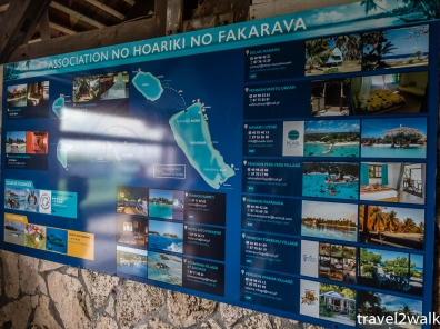 lodging information on Fakarava