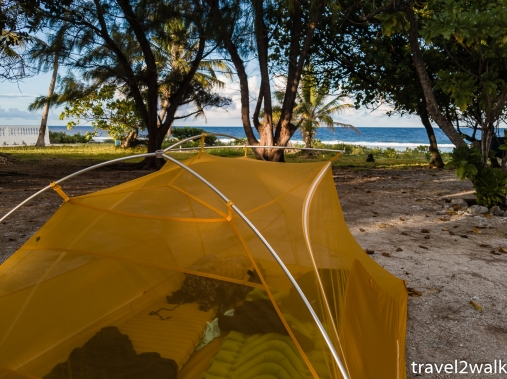 our tent at Relais Marama