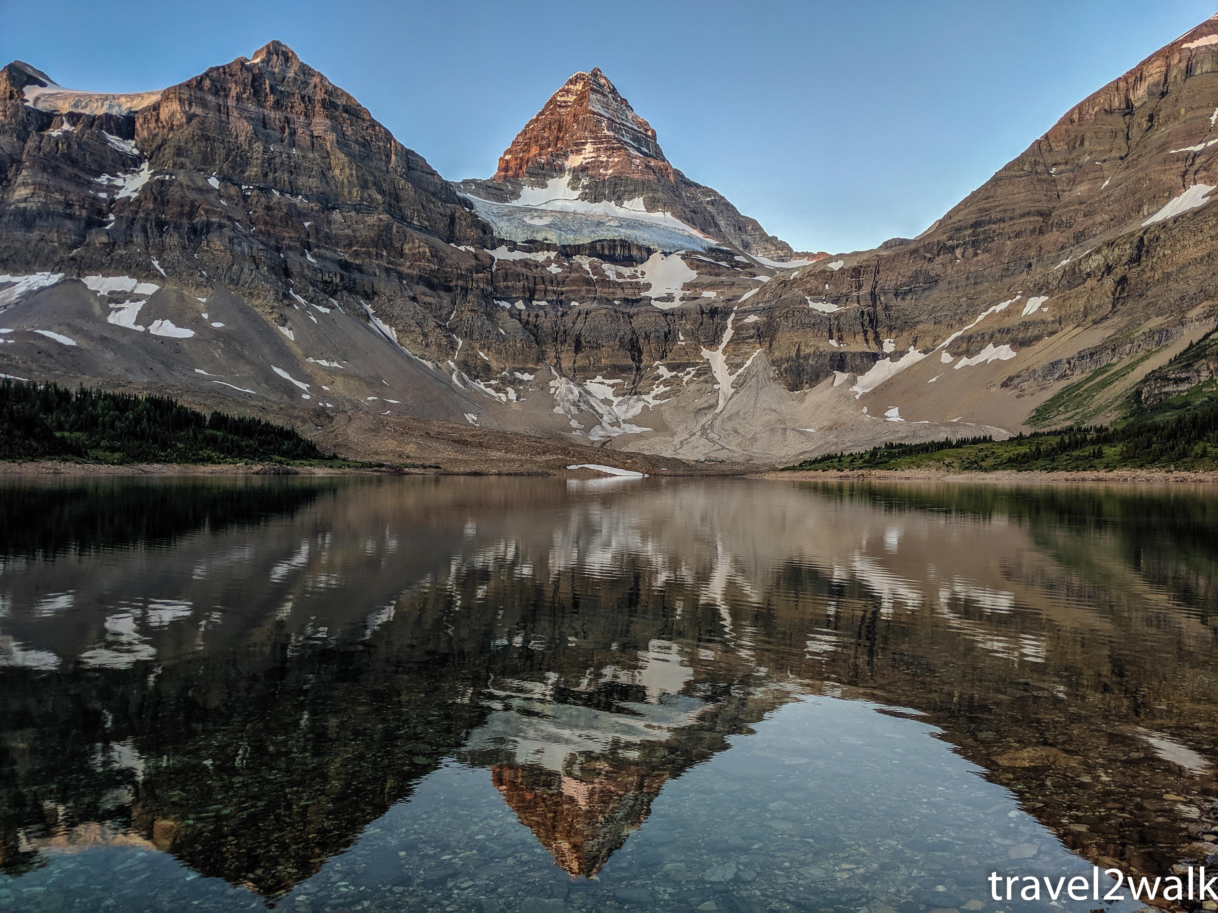 trip report: Mount Assiniboine, August 2019 – travel 2 walk