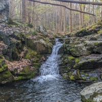 virginia hikes: Poor Mountain Preserve - outer loop, April 5 2020