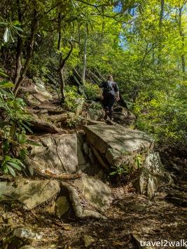final uphills may require your hands