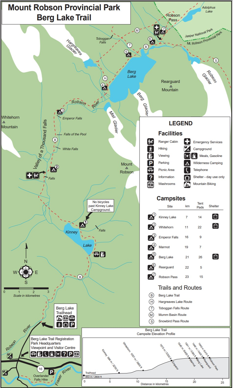 Mt. Robson Berg Lake Trail