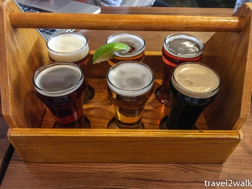 sampler from Jasper Brewing Company