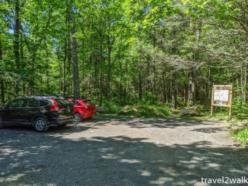 Stoney Creek parking area
