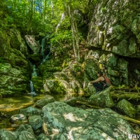 virginia hikes: Sherando Lake, Torry Ridge, & White Rock Falls loop, June 27 2020