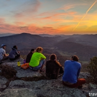 virginia hikes: Tinker Cliffs, October 24 2015 & October 20 2020
