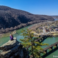 Maryland hikes: Maryland Heights via Harpers Ferry, March 20 2021