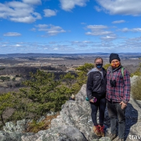 Maryland hikes: Sugarloaf Mountain & the Northern Peaks Trail - blue trail, March 6 2021