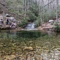 Virginia hikes: Chimney Rock, Riprap Hollow, & Wildcat Ridge, April 17 2021