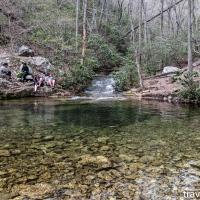 Virginia hikes: Chimney Rock, Riprap Hollow, & Wildcat Ridge, April 17 2021